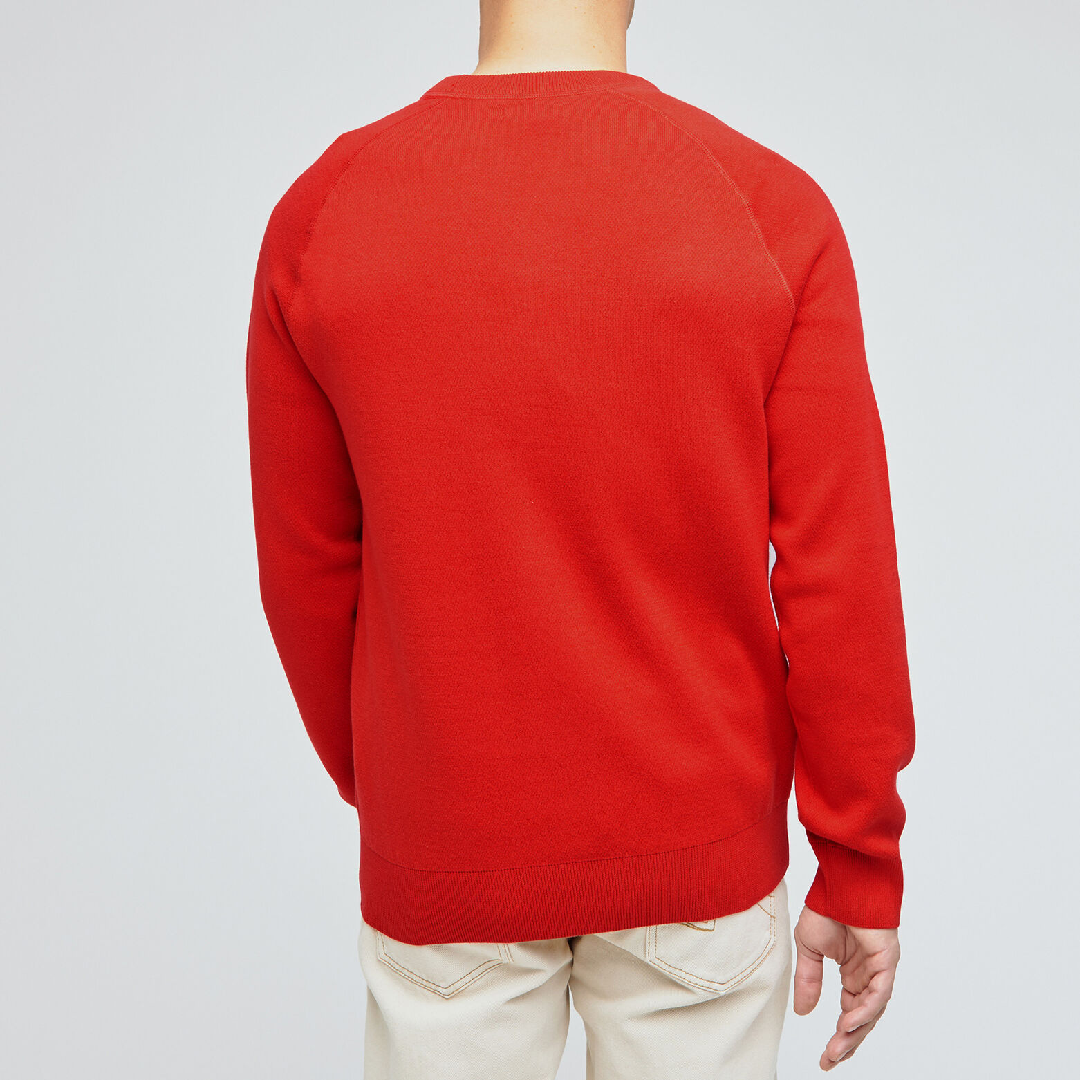 Pull coll rond type sweat