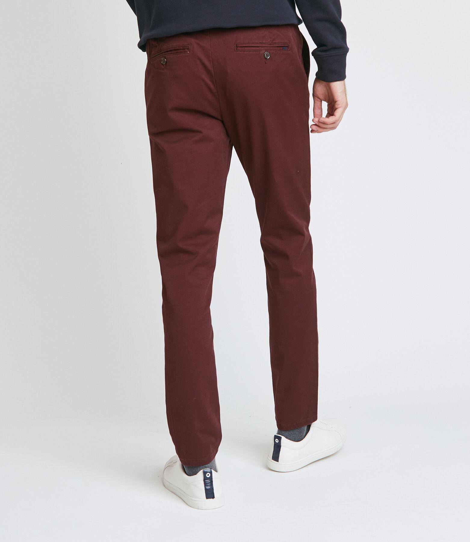 Pantalon chino ceinture elastiquée