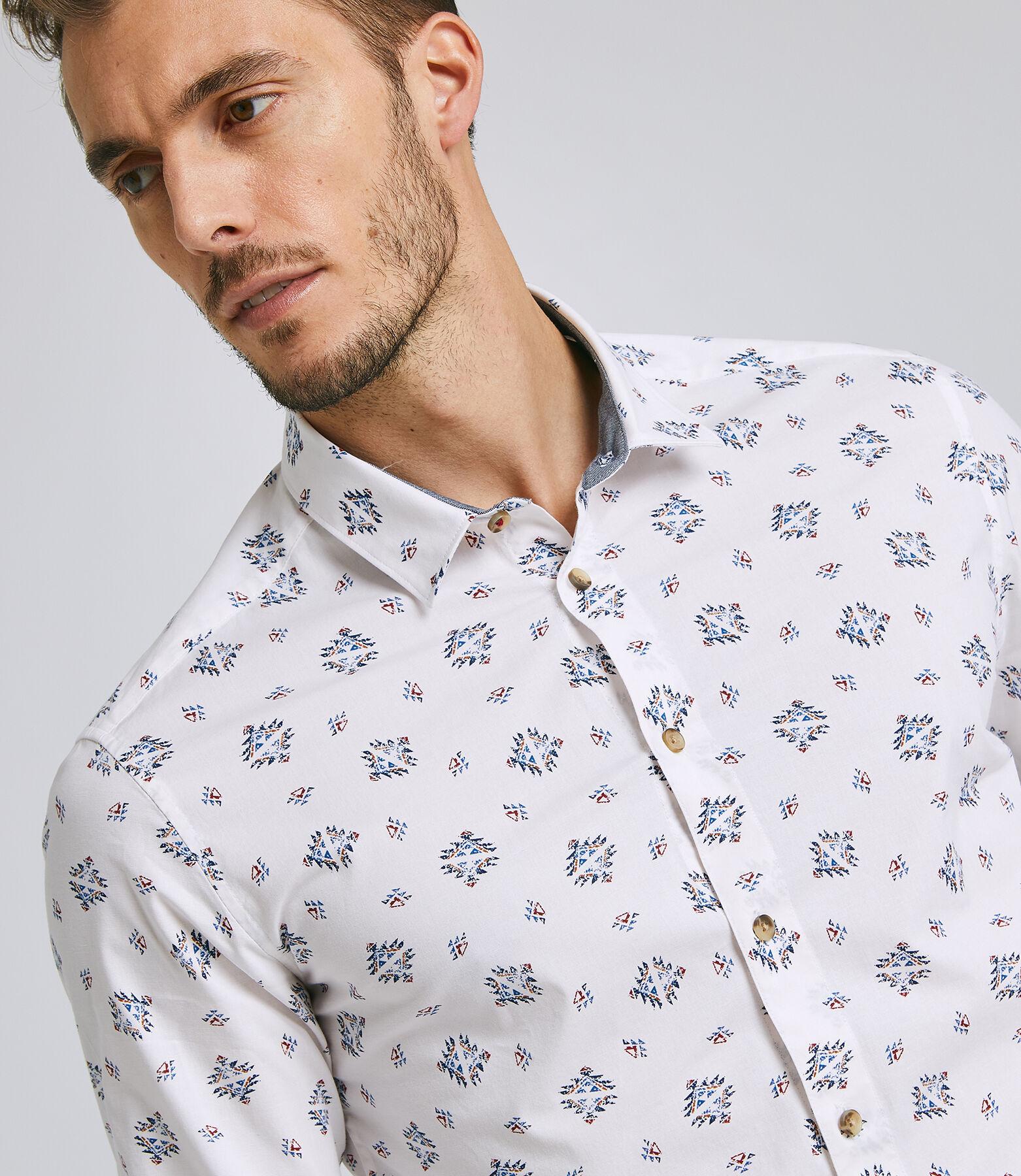 Chemise Sportswear Blanc Fantaisie