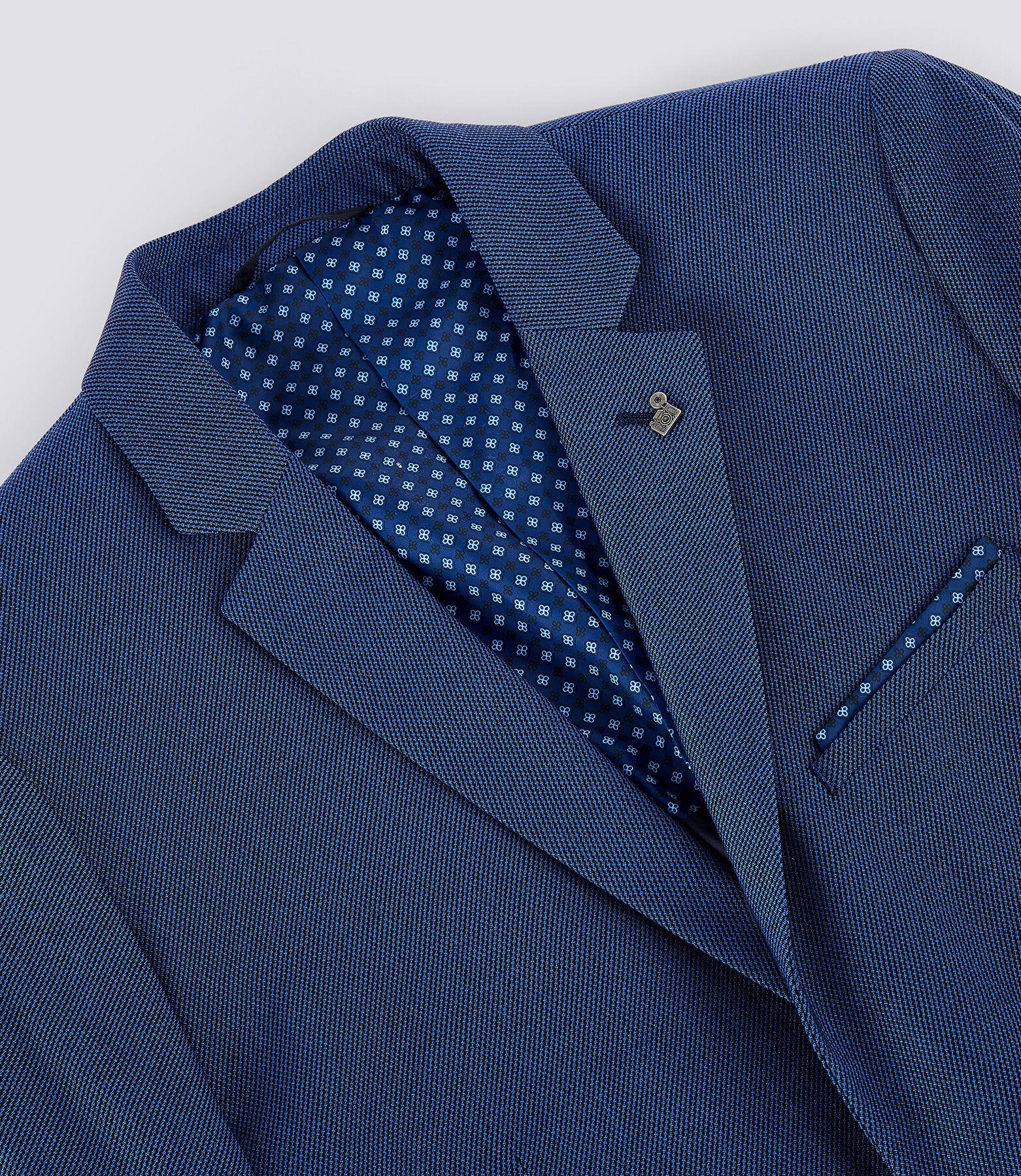 Veste de Costume Bleu Moyen