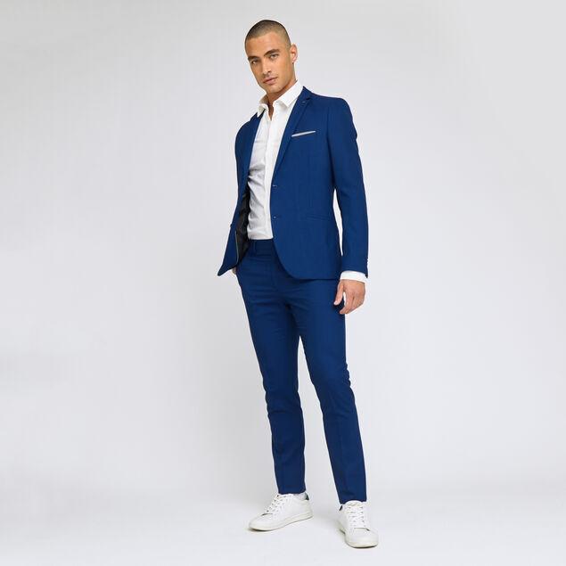 Costume 2 pièces slim - Bleu vif