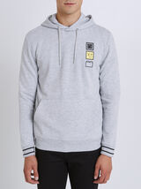 Sweat Gris Chine Clair