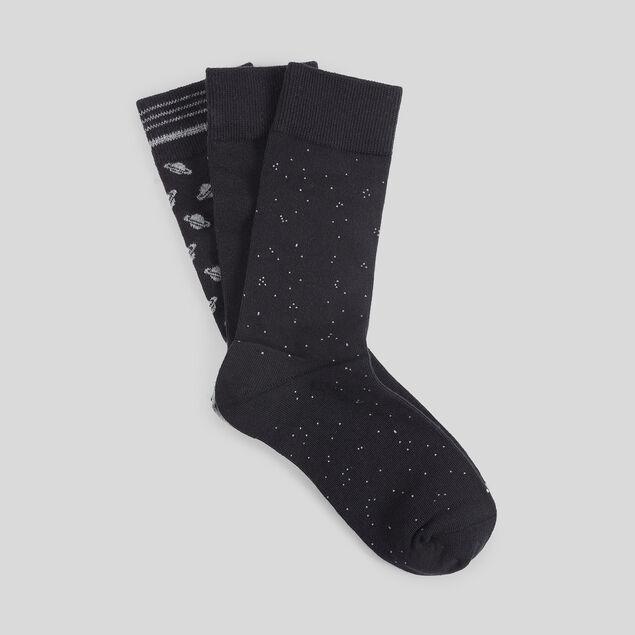 Lot de 3 paires de chaussettes fantaisie coton iss