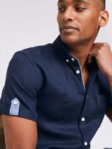 Chemise Sportswear Bleu Marine