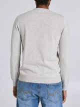 Pull Gris Chine Clair
