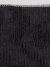 Lot de 3 paires de chaussettes unies coton issu de