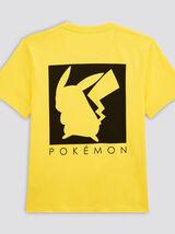Tee shirt imprimé pikachu Pokémon