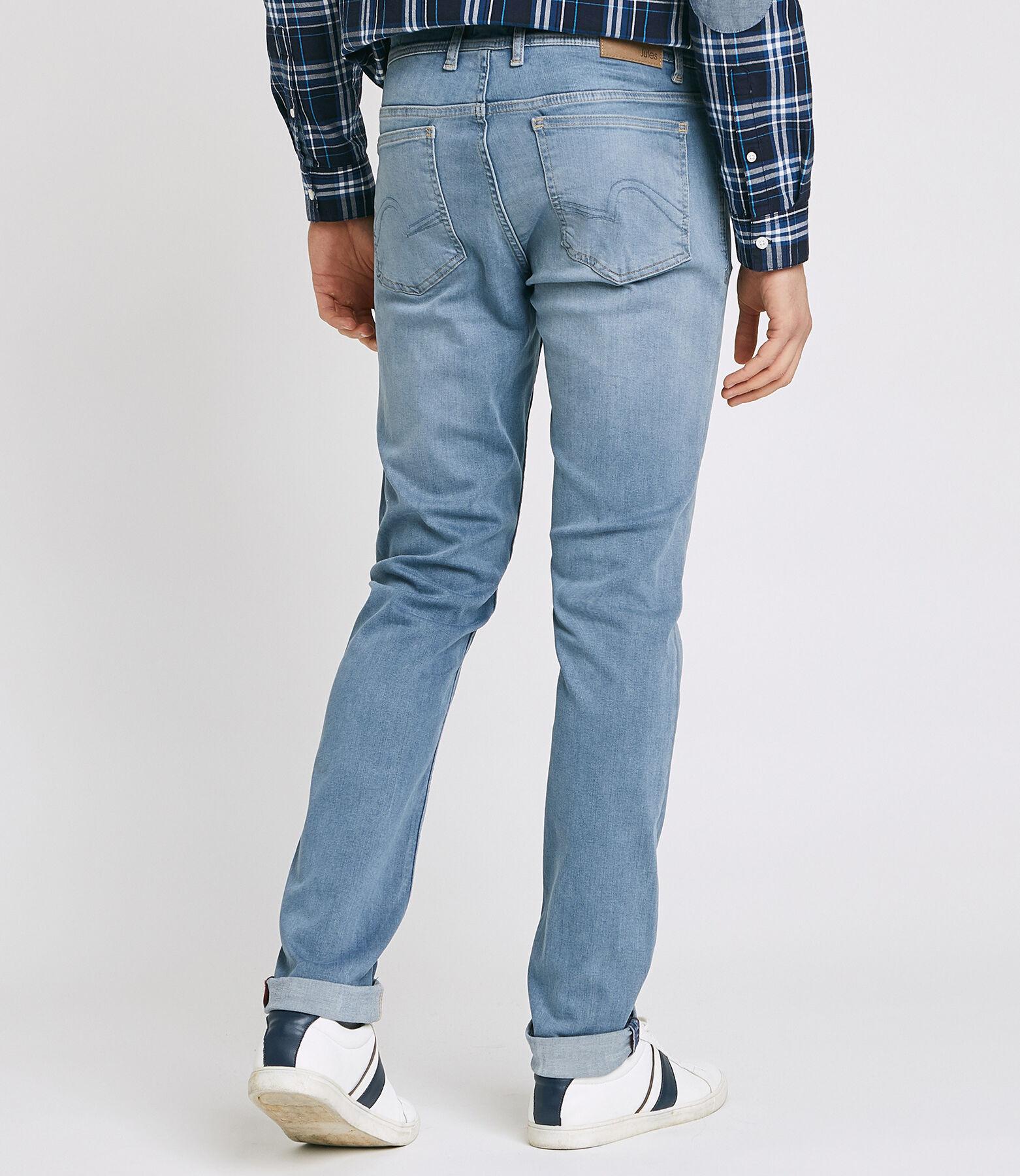 Jean Slim Urbanflex 4 longueurs bleu grisé