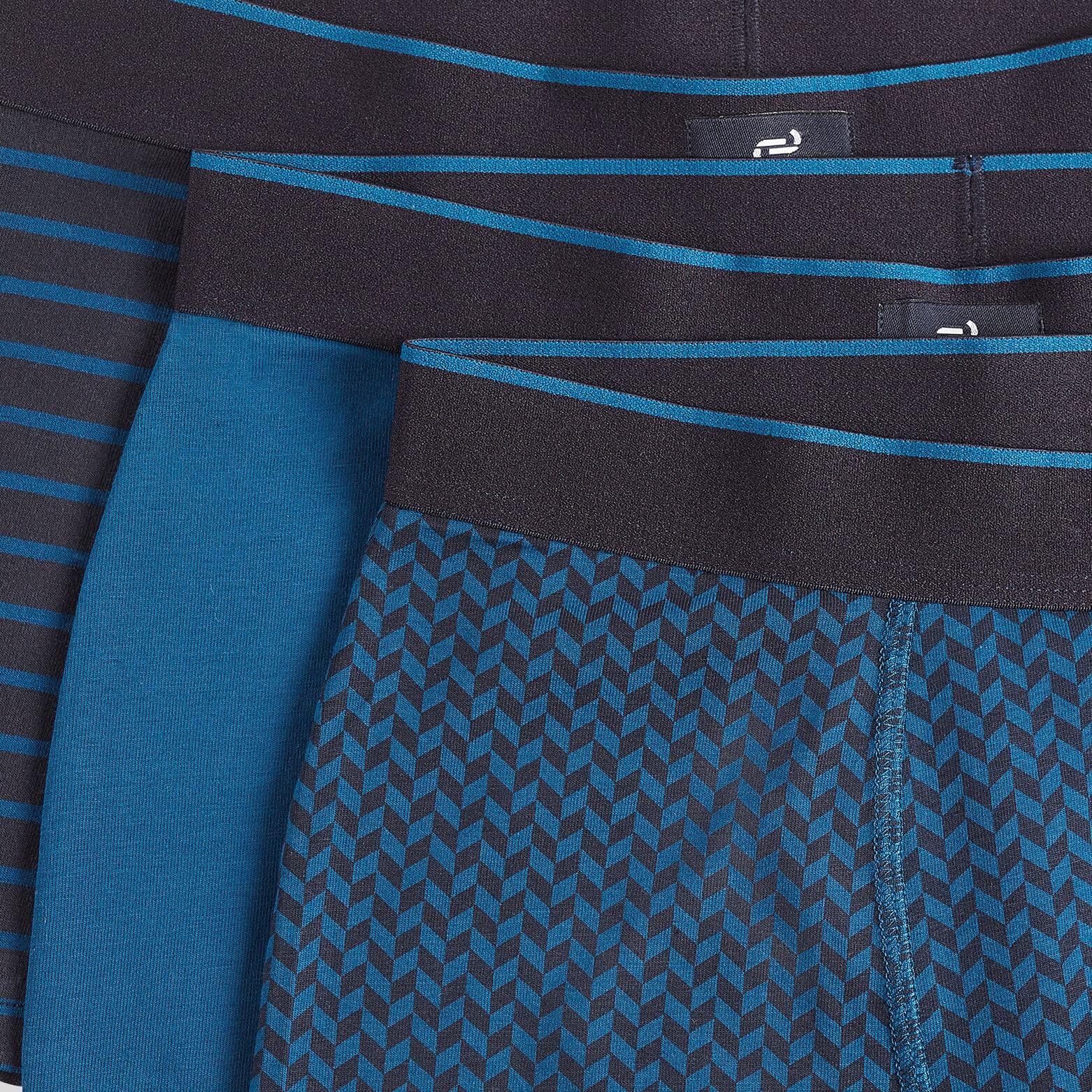 Lot de 3 boxers avec détails imprimés