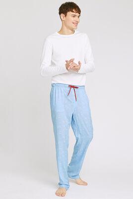 Pantalon de pyjama fluide en viscose