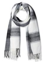 Sjaal, zwart en wit