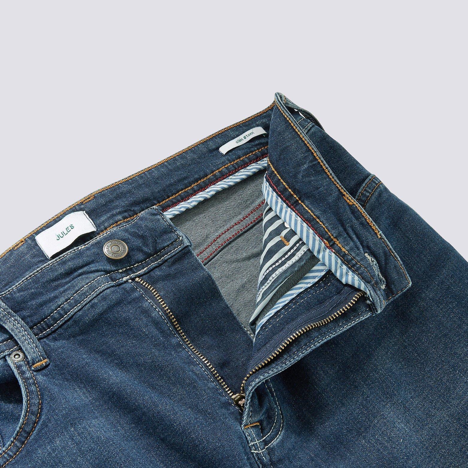 Jean slim #Tom 4 longueurs foncé