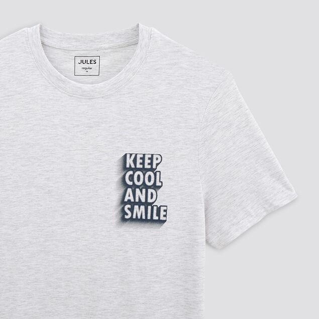 Tee-shirt imprimé typo