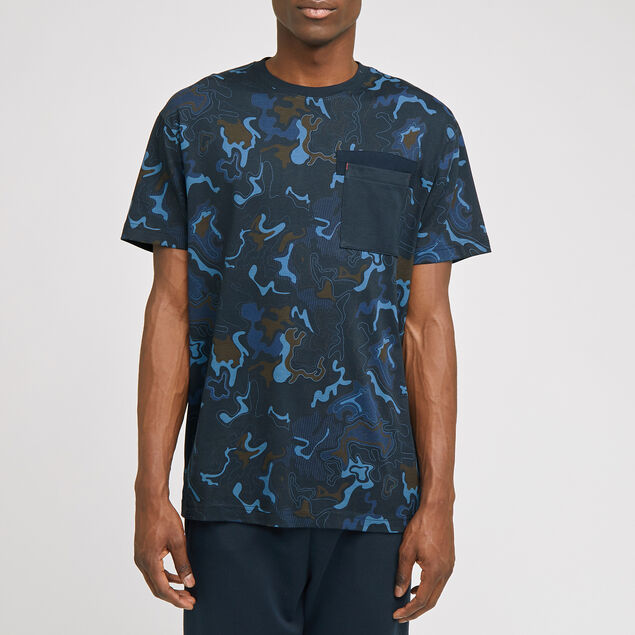 Tee-shirt imprimé camouflage