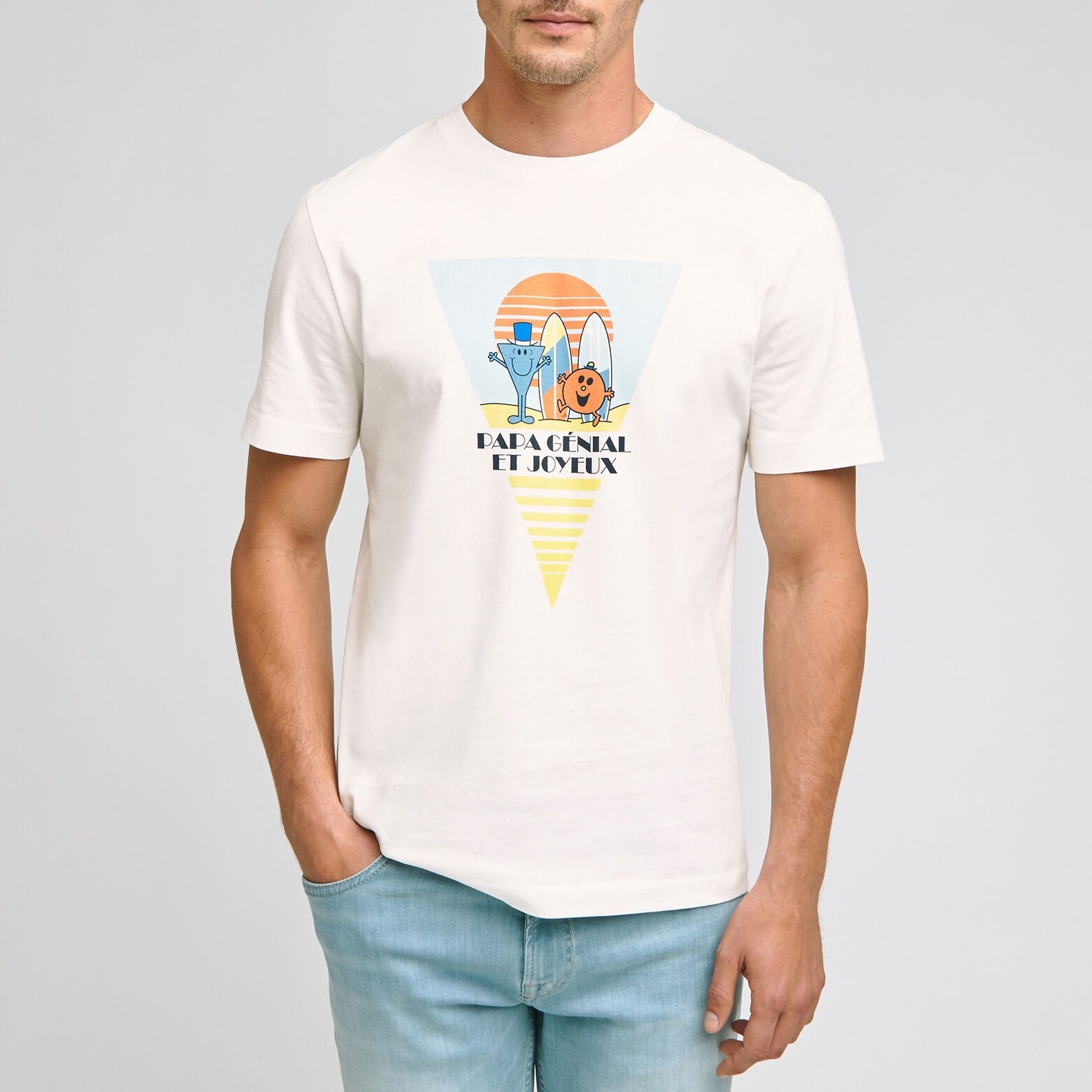 Tee shirt licence Mr Mme