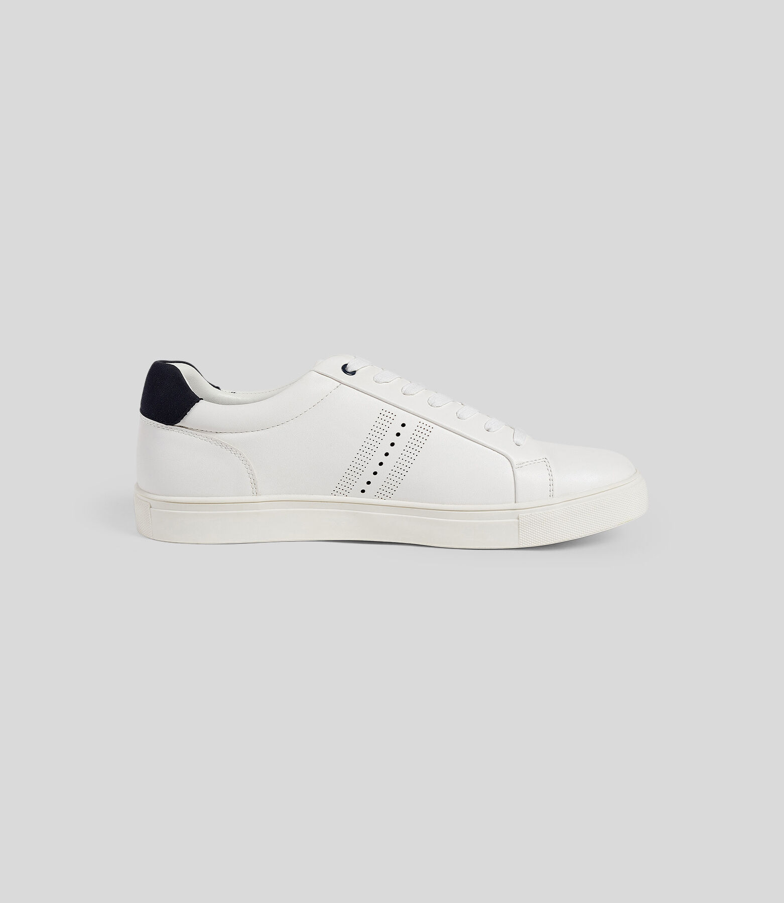 Baskets homme blanches