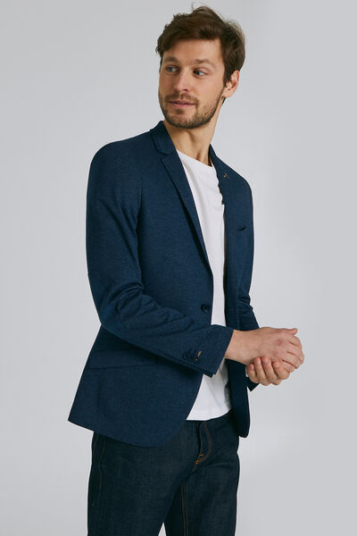 Slim vest met elleboogstukken