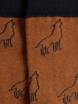 chaussette unitaire imprimée