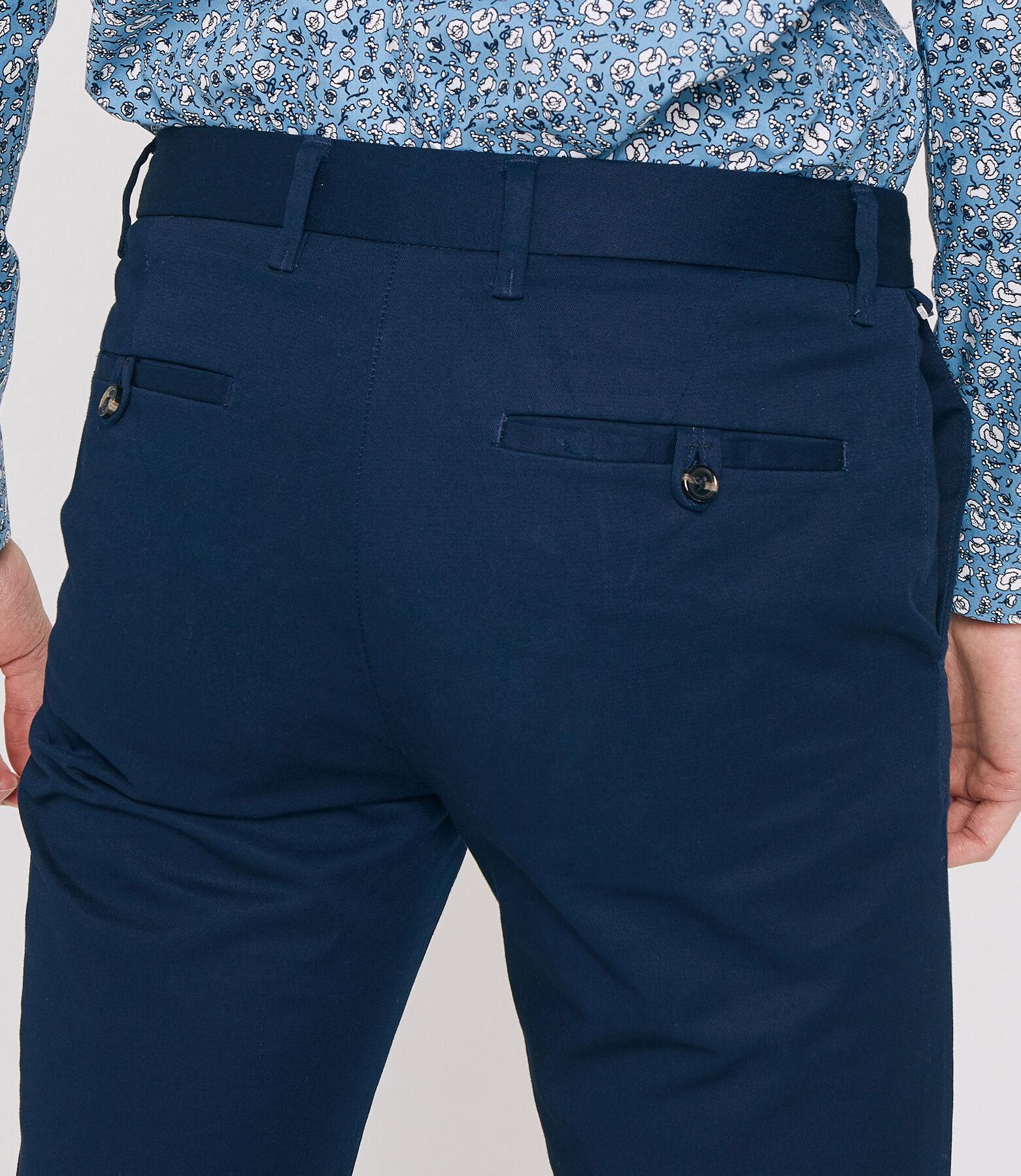 Pantalon Urbain Bleu Marine
