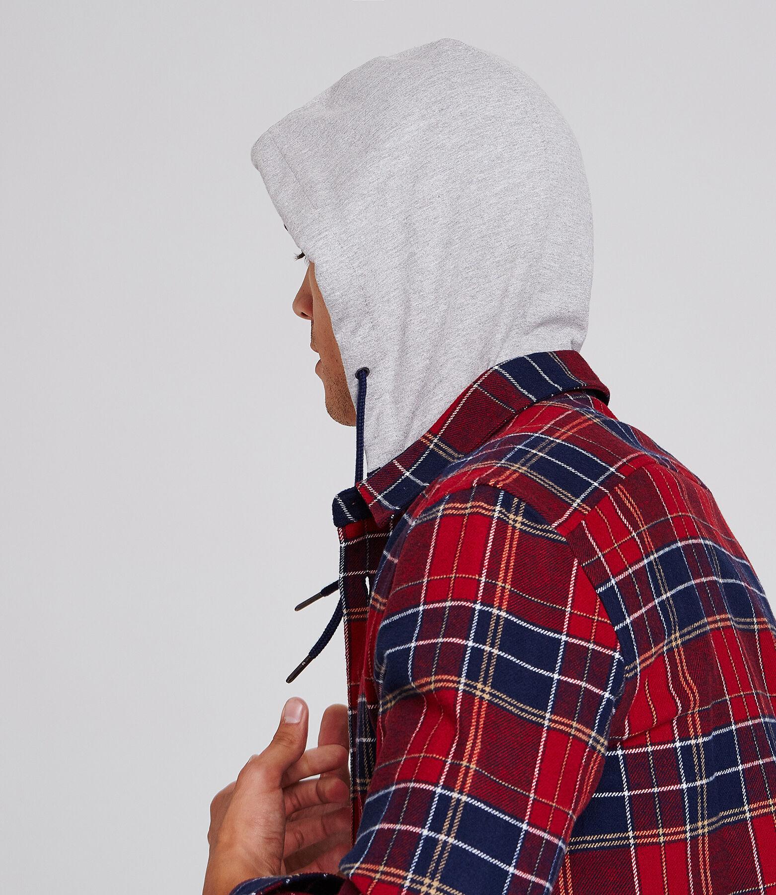 Surchemise coupe Regular capuche amovible