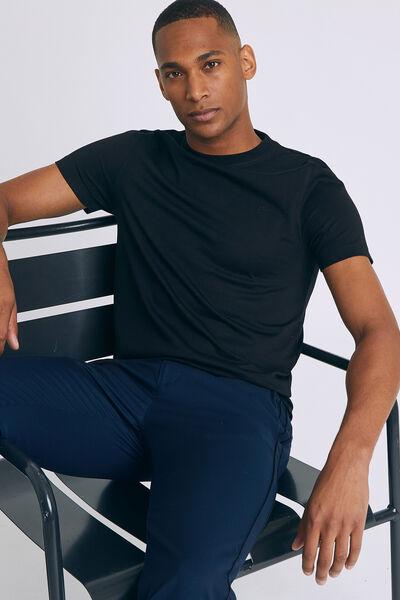 Tee shirt col rond uni Premium