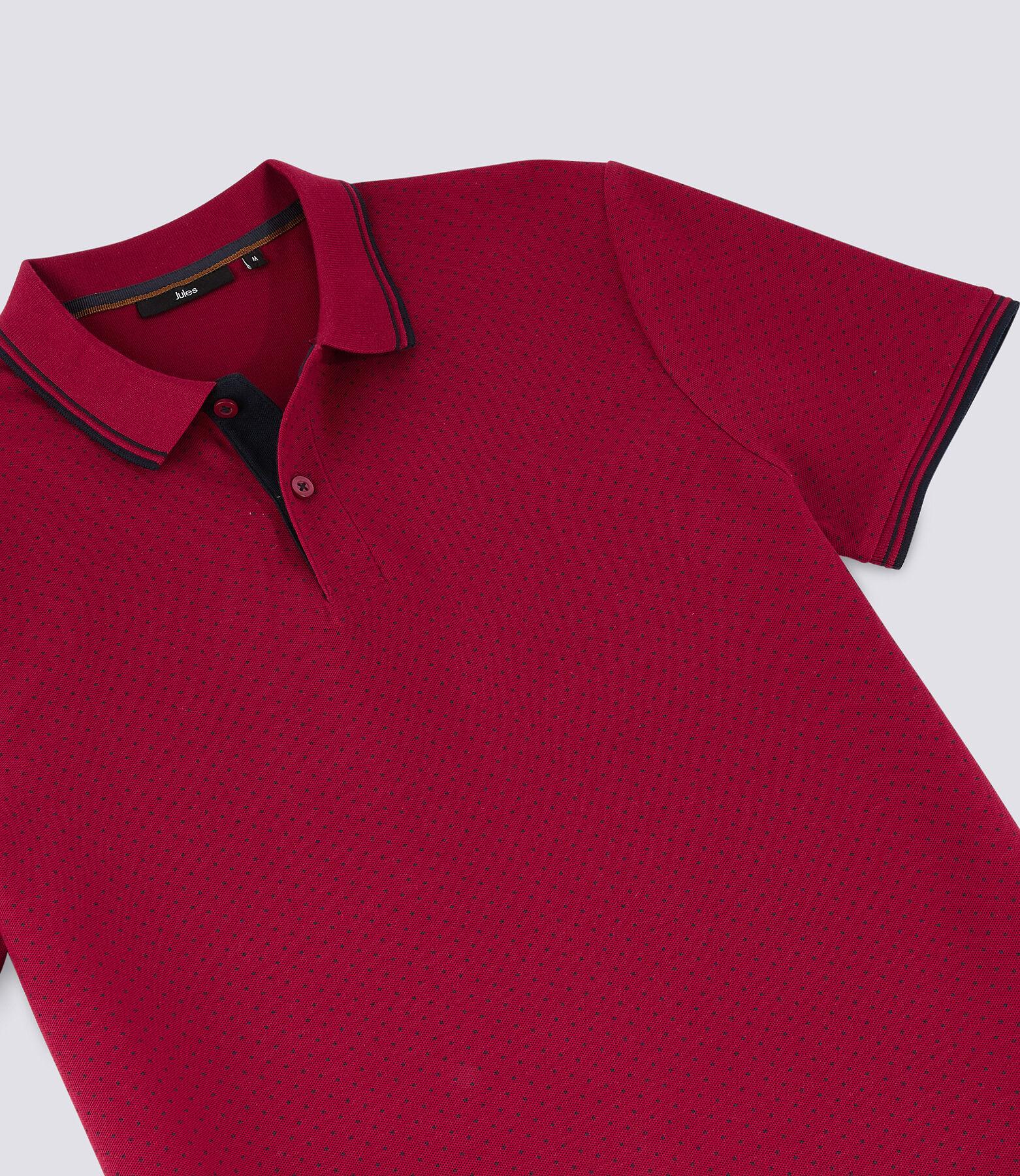 Polo Rouge Foncé