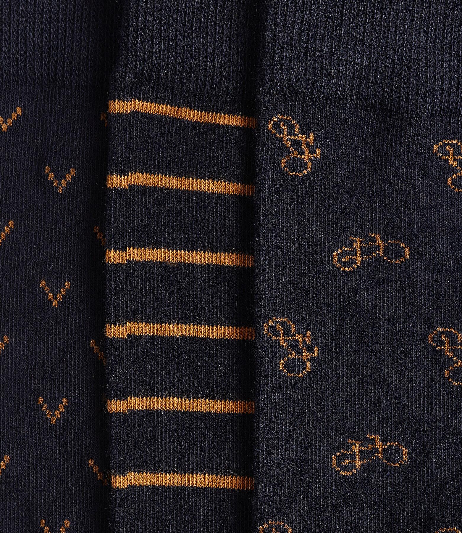 Chaussettes fantaisie lot de 3