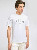 Tee shirt imprimé club pétanque