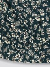 Chemise slim imprimé floral coton