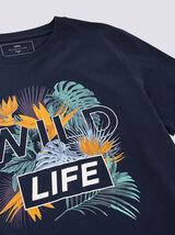 """T-shirt imprimé """"Wild Life"""""""