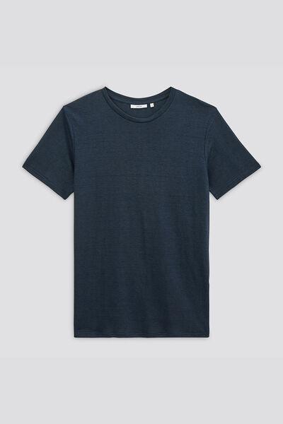 Tee-shirt en lin issu de l'agri bio confectionné e