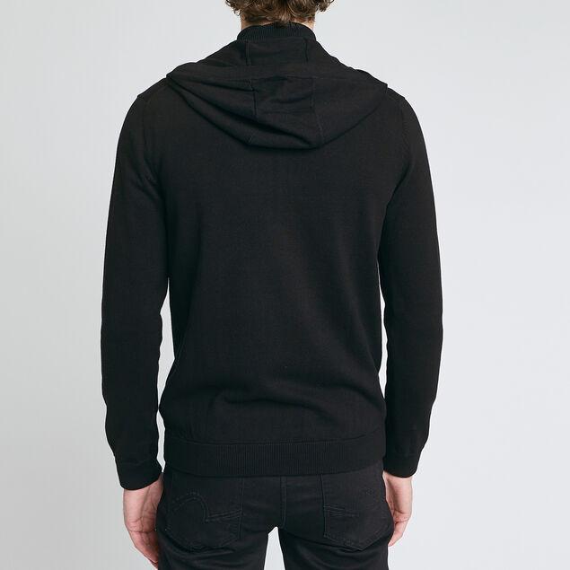 Gilet zippe à capuche - gris