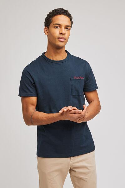 Tee-shirt avec poche brodée