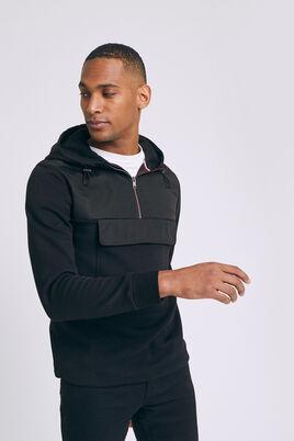 Sweatshirt à capuche en nylon