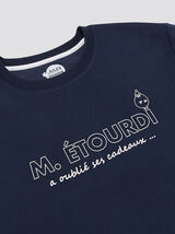"Sweat col rond manches longues Mr Mme ""in progress"