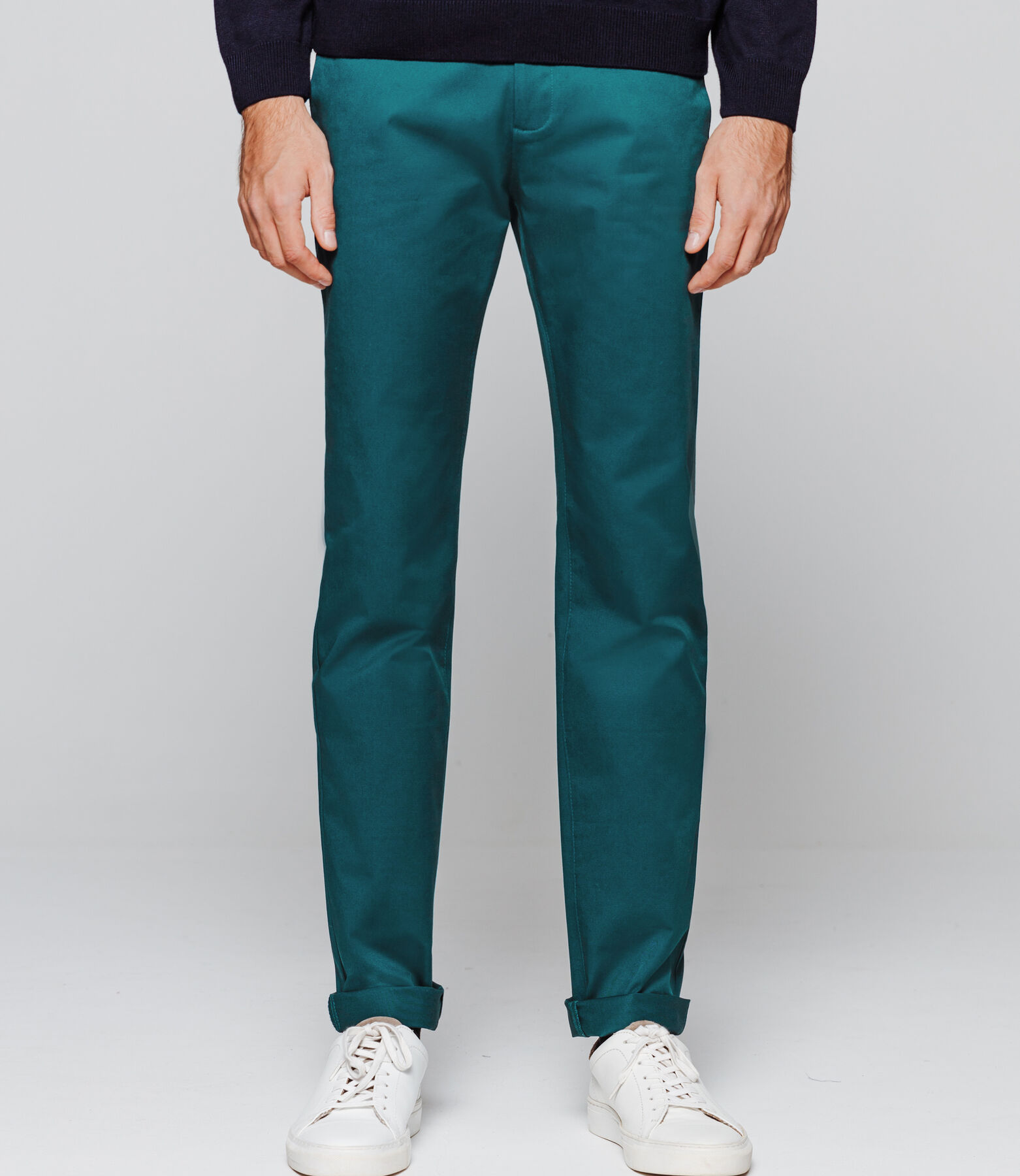 Pantalon Urbain Vert Canard