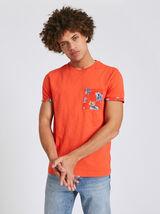 T-Shirt Orange Vif
