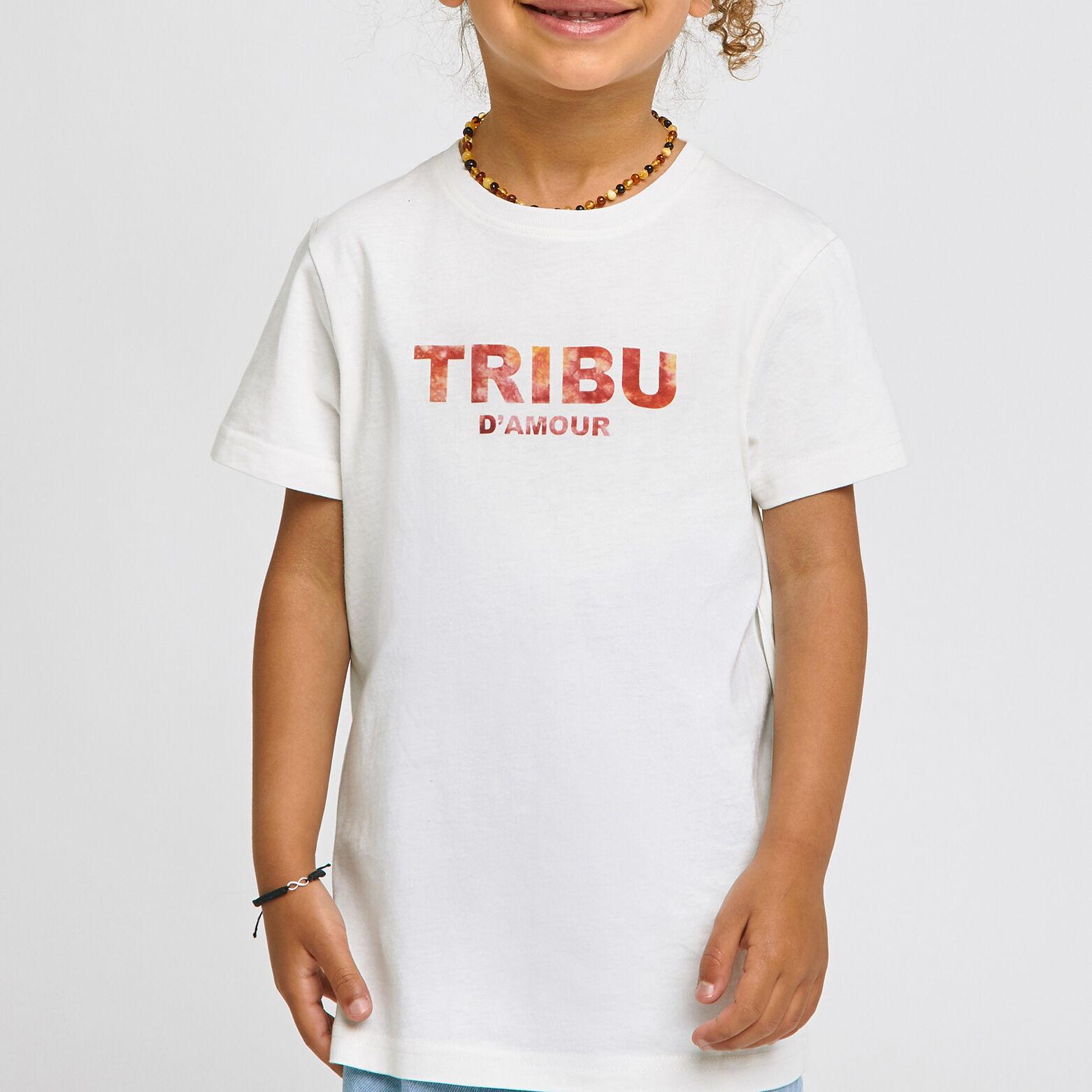 Tee-shirt tribu fête des pères coton issu de l'agr