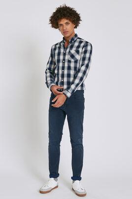 Jean slim Tom bleu grisé