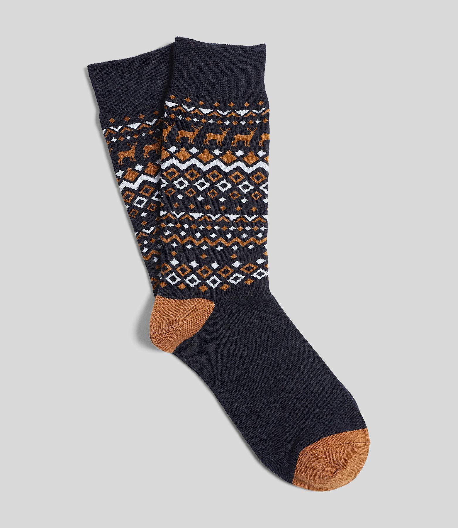 chaussette unitaire homme