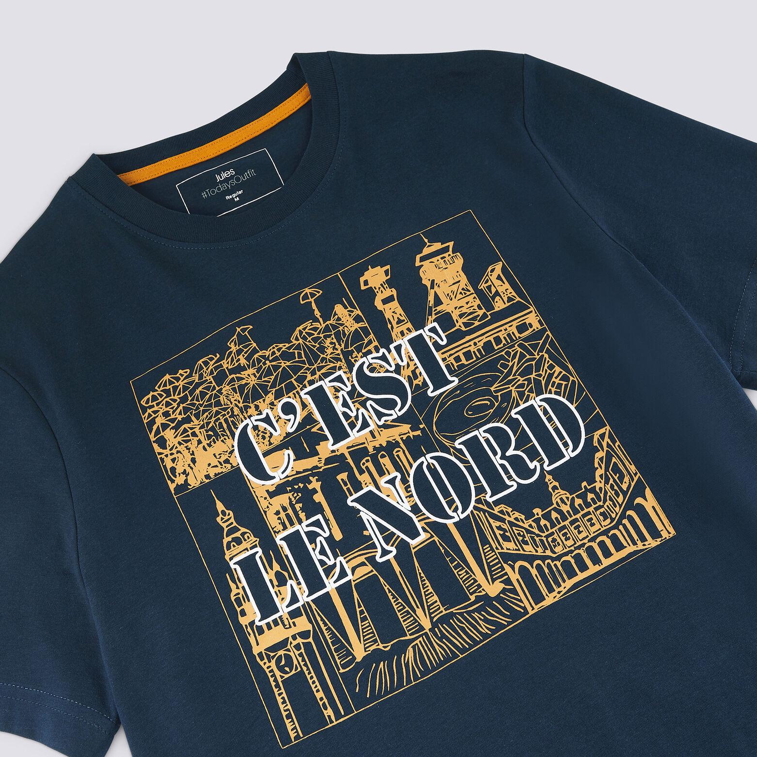 Tee-shirt col rond motif Hauts de France