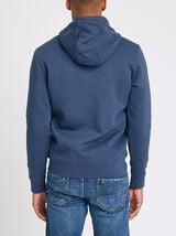 SWEATSHIRT A CAPUCHE ZIPPE - POLYESTER RECYCLE