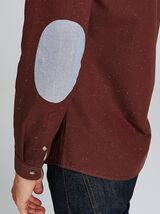 Chemise Slim à coudières