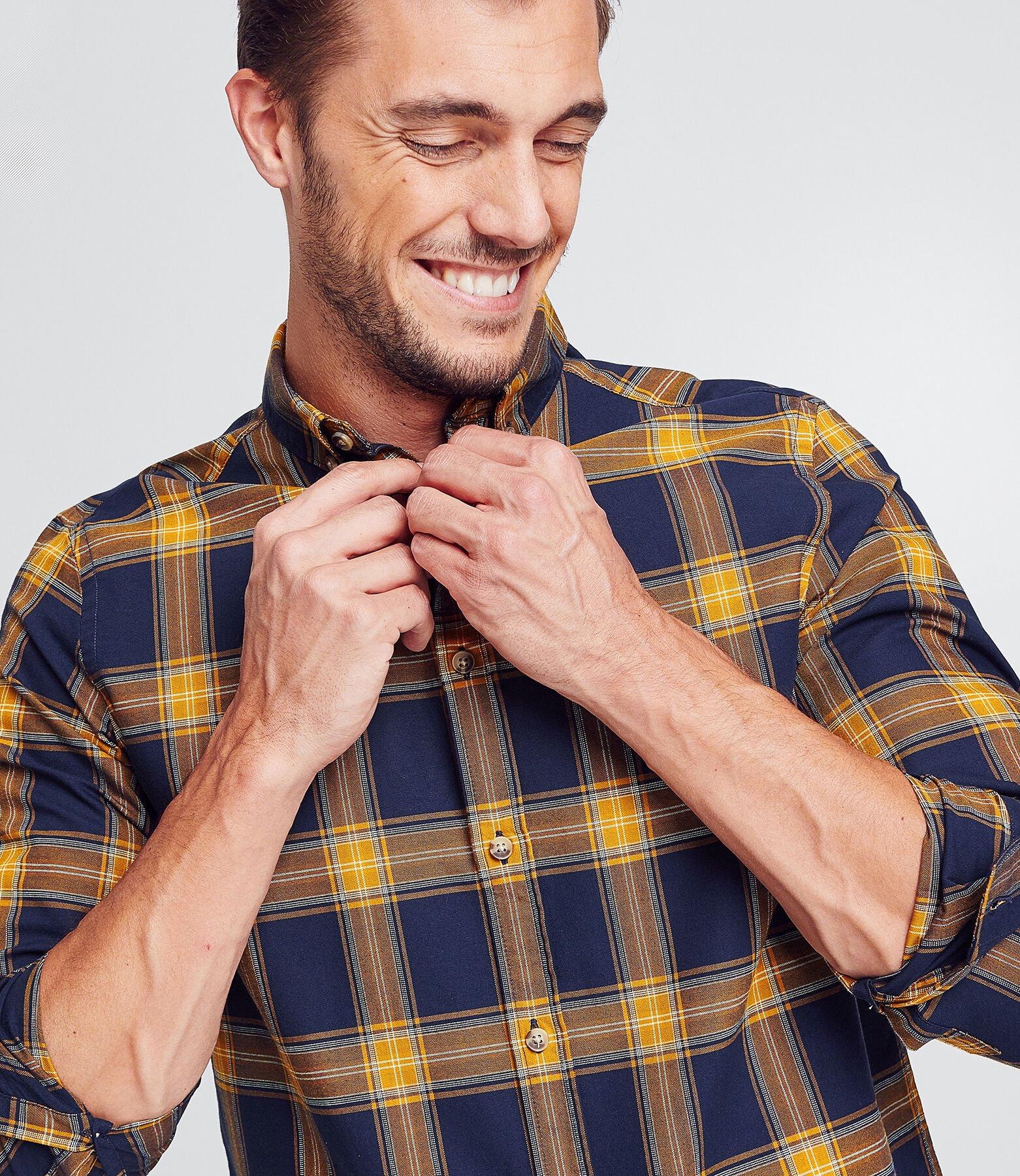 Chemise regularà carreaux