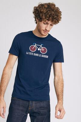 Tee-shirt brodé vélo