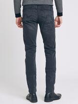 Jean slim #Tom urbanflex 4 longueurs noir lavé