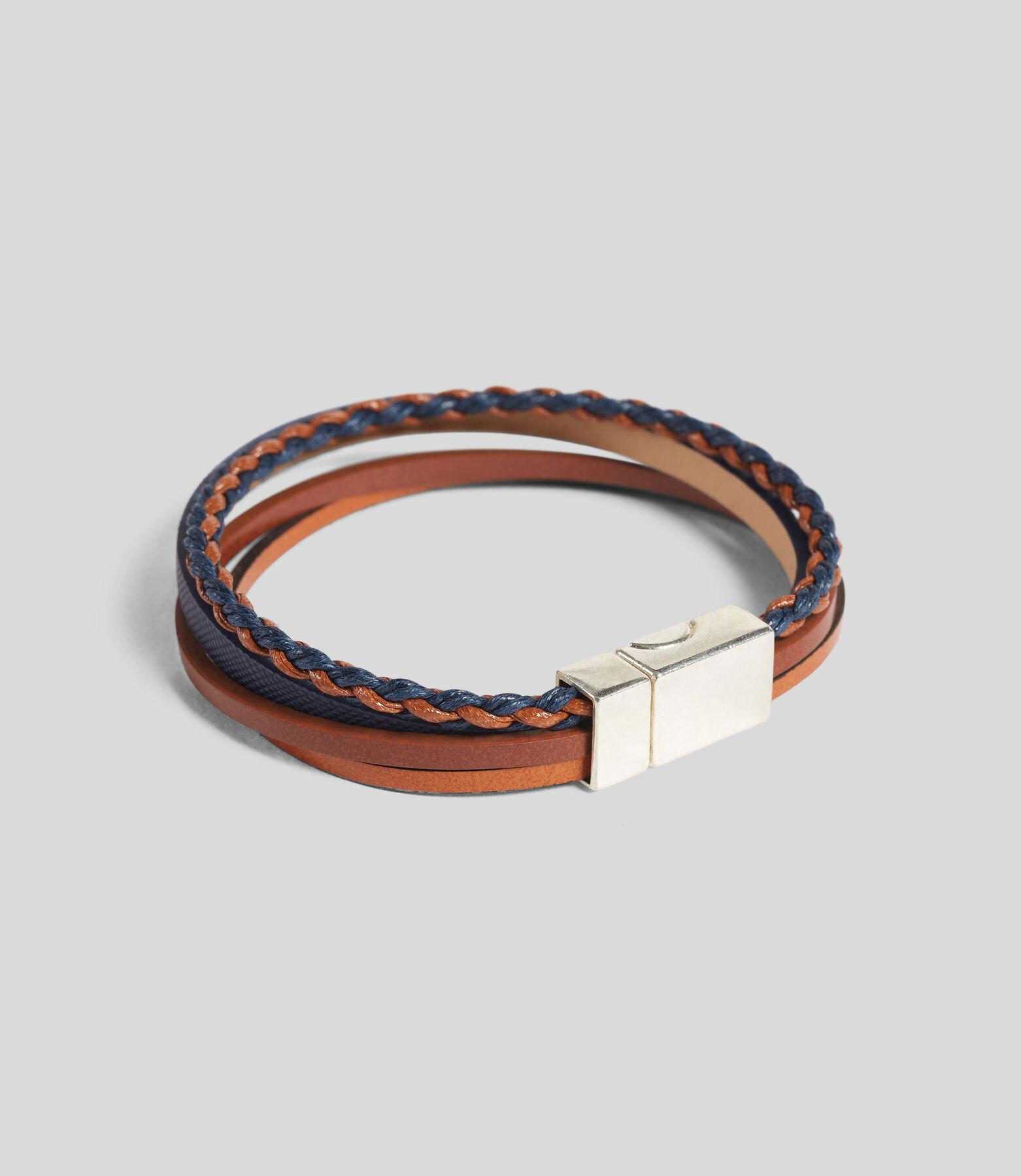 Bracelet mulit-cordons en cuir