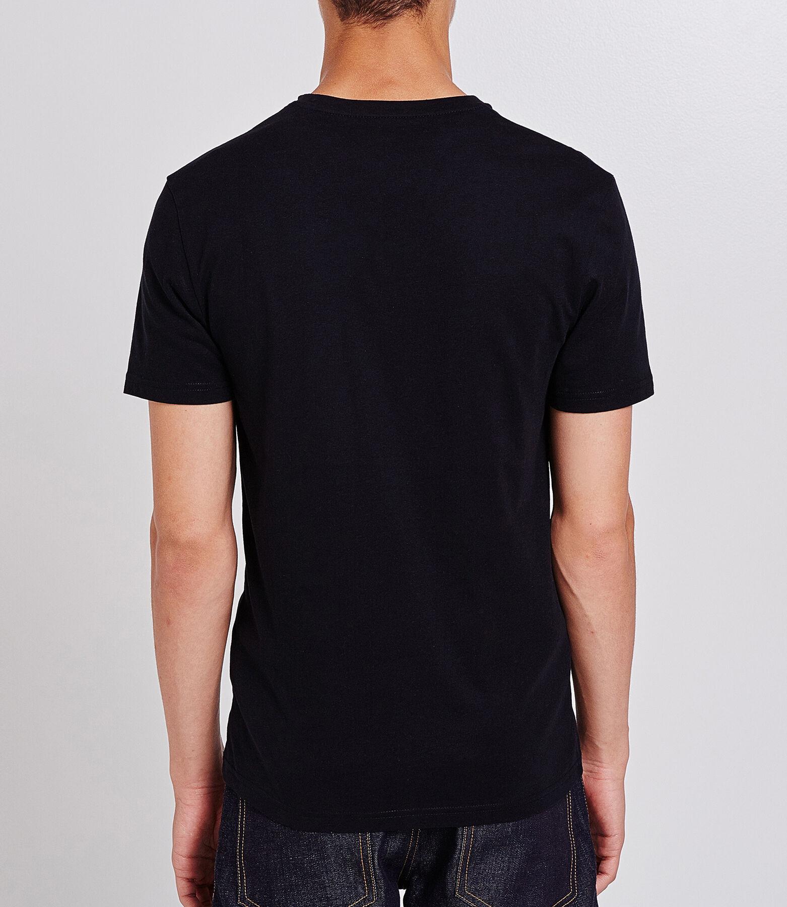 Tee shirt uni col V slim