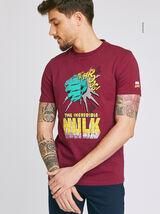 Tee shirt imprimé licence MARVEL HULK