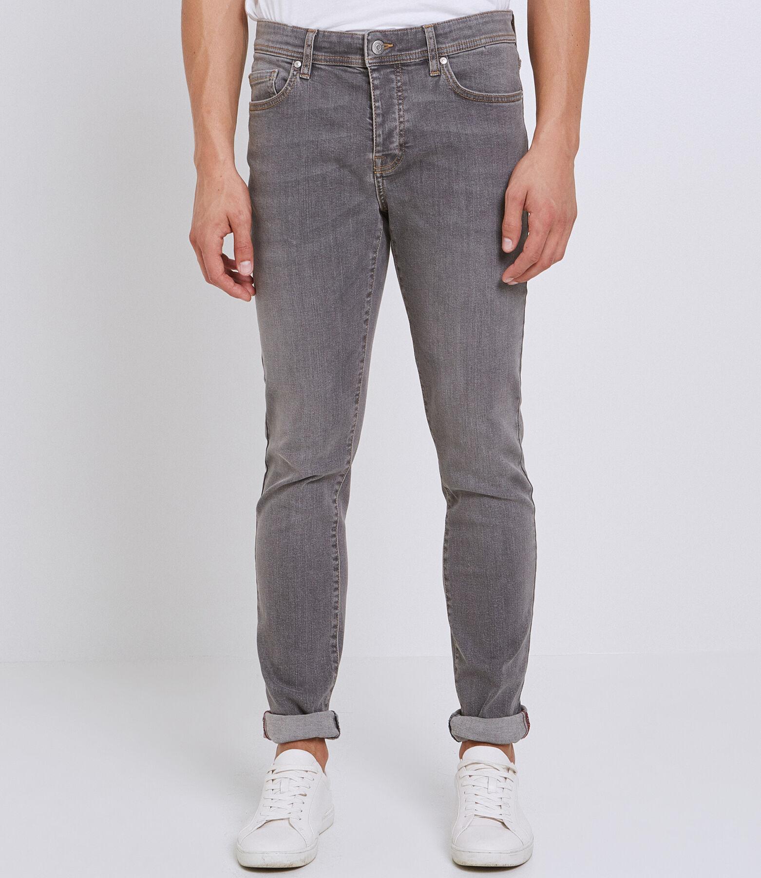 Slim jeans, grijs, instapprijs